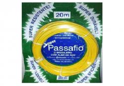 FITA PASSA FIO C/ ALMA DE AÇO  PROAQUA PVC 20M