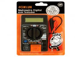 MULTÍMETRO  DIGITAL C/TESTADOR RJ45/RJ12/RJ11 FOXLUX