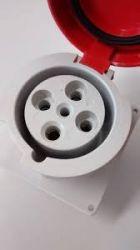 TOMADA EMBUTIR STECK  STECK 3P+T 6H 63A 380/440V VM N-4546
