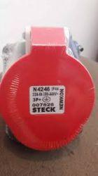 TOMADA EMBUTIR STECK  STECK 3P+T 6H 32A 380/440V VM N-4246